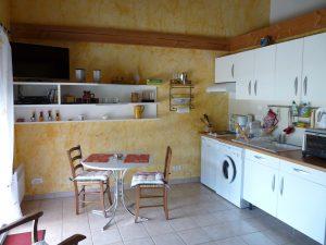 inside the cottage arendola